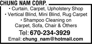 Chung Nam Corp Web