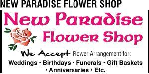 New Paradise Flower Web