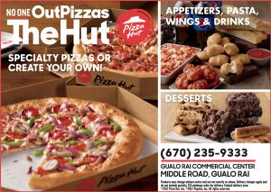 Pizza Hut Menu Web