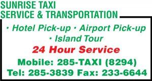 Sunrise Taxi Web