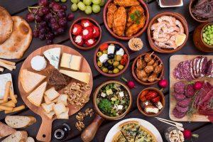 sets of foods